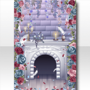(Wallpaper Profile) Oblivious Flower Fireplace ver.A gray
