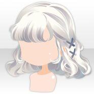 (Hairstyle) Hydrangea Braided Hair ver.A white