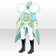 (Tops) Women Opera Rose Prince Style ver.A blue