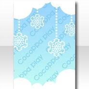 (Wallpaper Profile) Snow Cristal Wallpaper ver.A blue