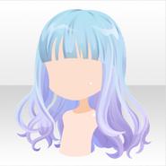 (Hairstyle) Kawaii★Star Semi Long Hair ver.A pink