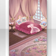 (Show Items) Royal Girl Baldachin Bedroom Stage ver.1