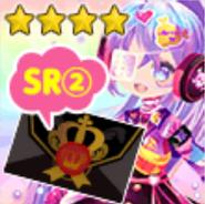 (Invitations) Glittery ZOMBIE - SR2