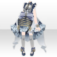 (Tops) Angelic Magical Bow Dress Style ver.A blue