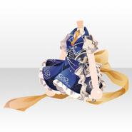 (Tops) Night Phantom Partner Ribbon Dress ver.A blue