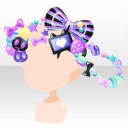 (Head Accessories) CocoPPa Dolls Princess Meryl Hair Accessories ver.A black