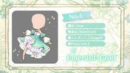 (Design Survey) Color - Emerald + Gold