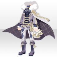 (Tops) Gatekeeper Cape Style ver.A white