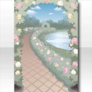 (Wallpaper Profile) Secret Fleur Rose Garden Wallpaper ver.A jade green