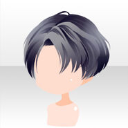 (Hairstyle) Meraviglioso Side Parted Short Hair ver.A gray