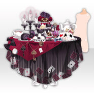 (Avatar Decor) Wonder Tea Party With You ver.A black