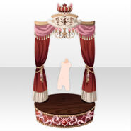 (Back Accessories) Throne Room for Imperial Princess ver.A red