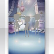 (Show Items) Shining Dressing Table Stage Blue ver.1