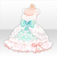 (Tops) Mermaid Became Human Pearl Dress ver.A white