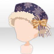 (Head Accessories) Snow Land Romantic Hat ver.A purple