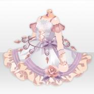(Tops) Hollow Park Chandelier Mini Dress ver.A pink