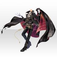 (Tops) Night Phantom Thief Cloak Style ver.A black