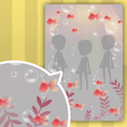 (Show Items) Goldfish in Water Decor1 Red ver.1