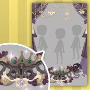 (Show Items) Shining Crown Curtain Decor Black ver.1