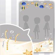 (Show Items) Aquarium White Sand Decor1 ver.1