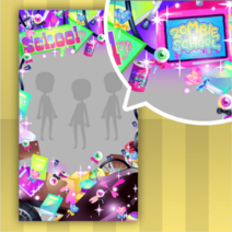 (Show Items) Glittery Zombie School Life Decor1 ver.1