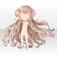(Hairstyle) CocoPPa Dolls Princess Amar Hair ver.A brown