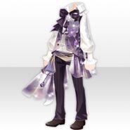 (Tops) Hydrangea Mens Style ver.A purple