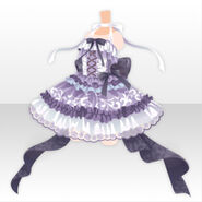 (Tops) Peluche Ballerina Dress ver.A purple