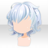 (Hairstyle) Jewel Mermaid Fluffy Short Hair ver.A blue