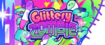 (Logo) Glittery ZOMBIE