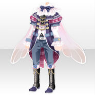 (Tops) Snow Drop Prince Style ver.A blue