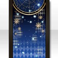 (Wallpaper Profile) Secret Star Poem Wallpaper ver.A blue