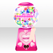 (Back Accessories) Glittery Zombie Pop Candy Machine ver.A pink