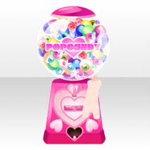 (Back Accessories) Glittery Zombie Pop Candy Machine ver.A pink