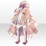 (Tops) Phantom Elegant Witch Style ver.A pink