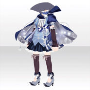(Tops) Phantom Witch Skirt Style ver.A blue