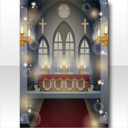 (Wallpaper Profile) Cathedral Altar Wallpaper ver.A black
