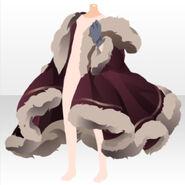 (Body Accessories) Meraviglioso Fur Coat ver.A red