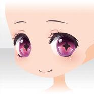 (Face) Undercore Cute Smile Face ver.A pink