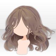 (Hairstyle) Wavy Medium Hair ver.A brown