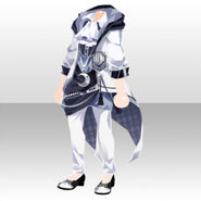 (Tops) Phantom Cool Sorcerer Style ver.A white