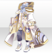 (Tops) Traveling Stars Astronomer Style ver.A white