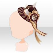 (Head Accesories) Chocolat Queen's Hat ver.A brown