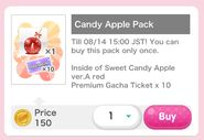 (Packs) CocoPPa Play Summer Festival 2019 - Candy Apple Pack