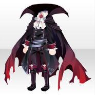 (Tops) Vampire Cloak Suit ver.A black