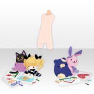 (Avatar Decor) Possession Cute Dolls ver.A purple