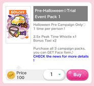 (Pack) Pre-Halloween☆Trail Event Pack 1
