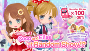 (Promotion) CocoPPa Play 6th Anniversary Promo - Coco and Elisa Show