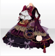 (Tops) Traveling Stars Celestial Globe Frilled One-Piece ver.A purple