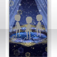(Show Items) Twinkle Night Sky and Planisphere Stage ver.1